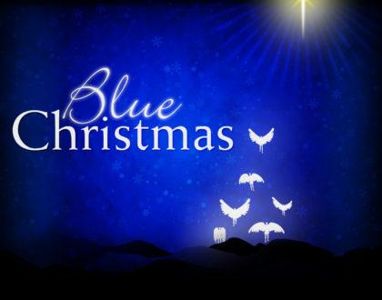 Blue Christmas Worship Service - Dec 17 Noon